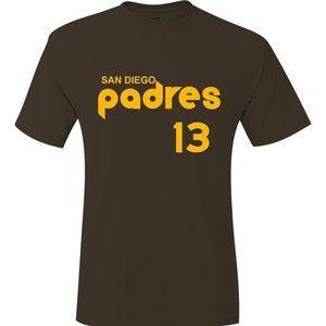 Padres Manny Machado Throwback Jersey T-Shirt